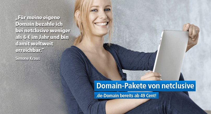 netclusive Domain-Pakete