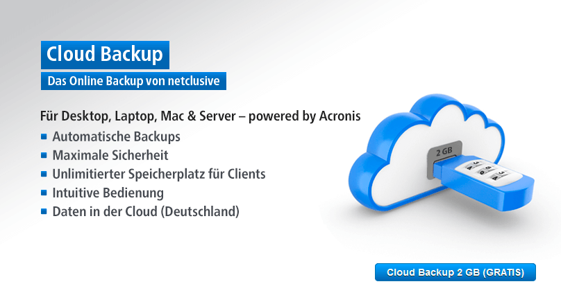 netclusive Cloud Backup